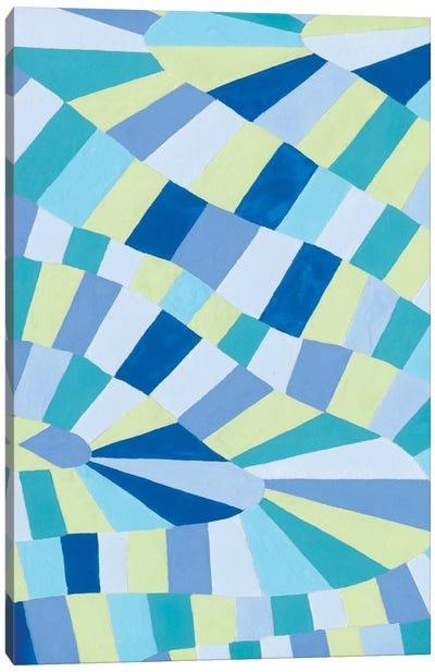 Grid Flow II Canvas Art Print
