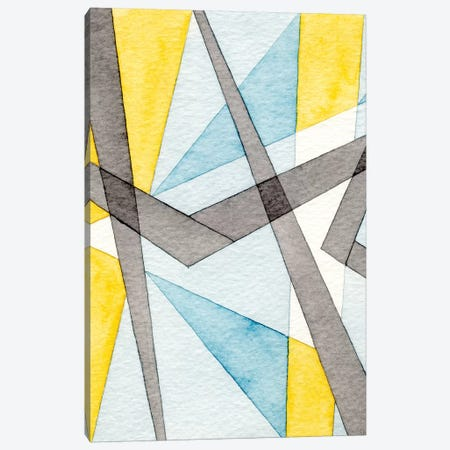 Converging Angles I 3-Piece Canvas #NIK52} by Nikki Galapon Canvas Artwork