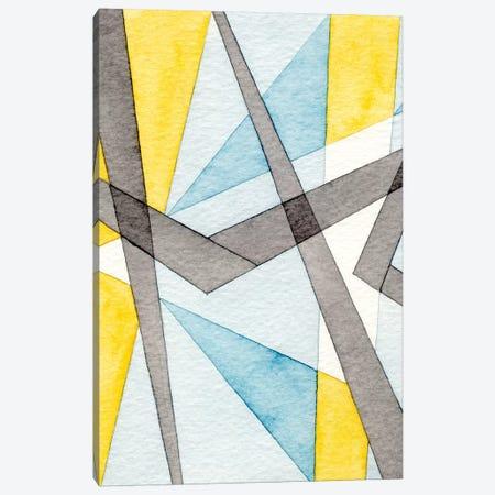 Converging Angles I Canvas Print #NIK52} by Nikki Galapon Canvas Artwork