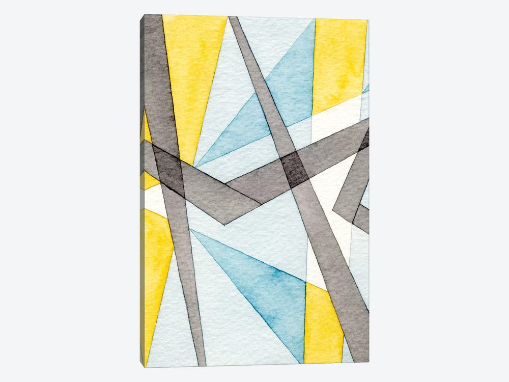 Converging Angles I by Nikki Galapon 1-piece Canvas Art