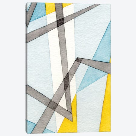 Converging Angles II 3-Piece Canvas #NIK53} by Nikki Galapon Canvas Wall Art