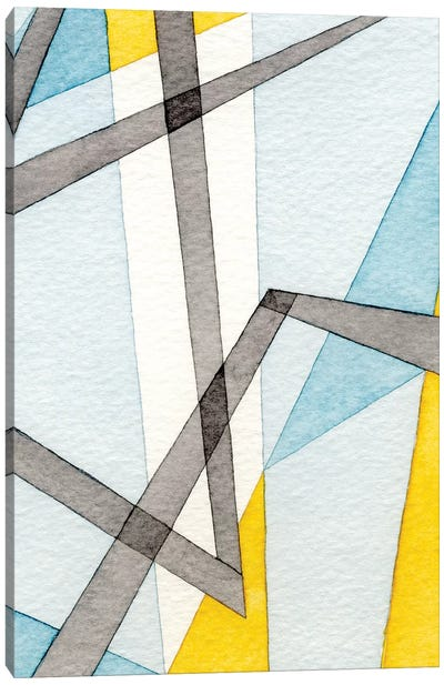 Converging Angles II Canvas Art Print