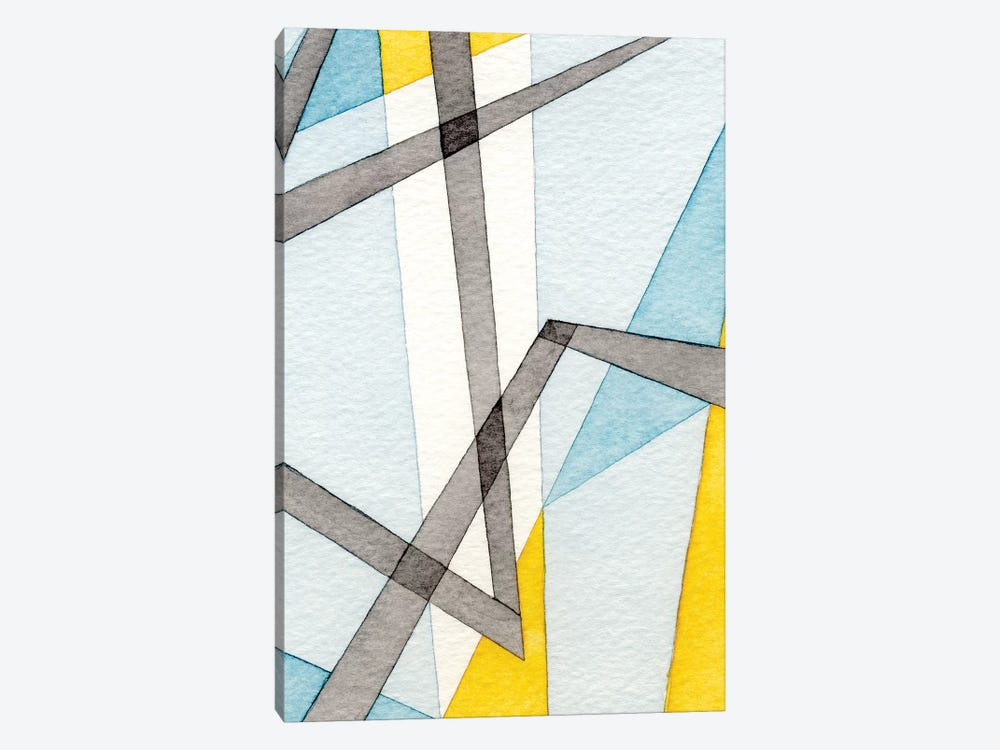 Converging Angles II by Nikki Galapon 1-piece Canvas Art Print
