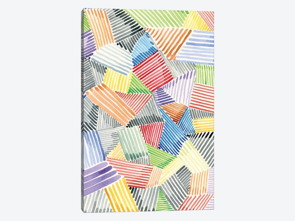 Crosshatch Quilt II by Nikki Galapon 1-piece Canvas Art Print