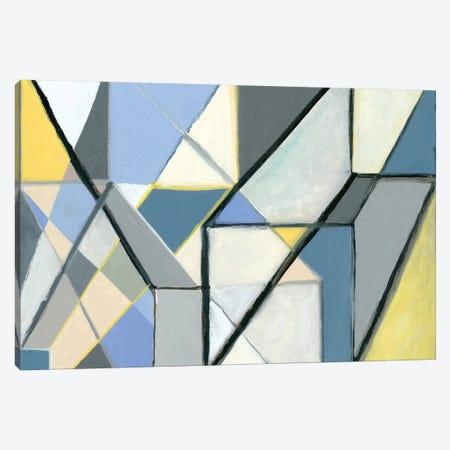 Cuboid 3-Piece Canvas #NIK56} by Nikki Galapon Canvas Art Print