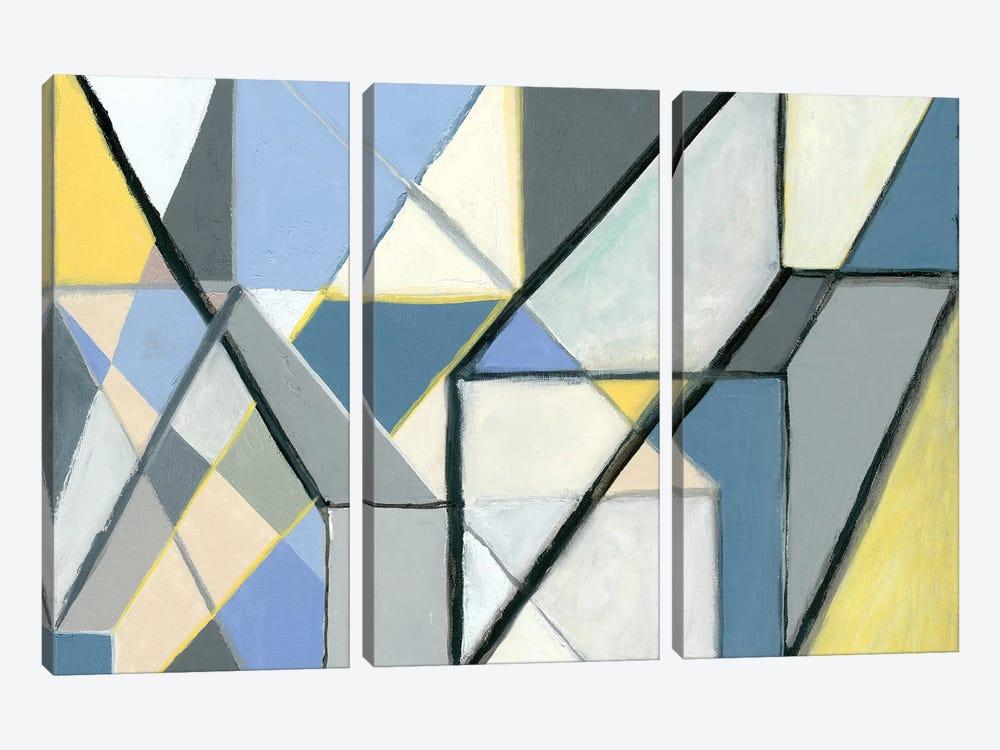 Cuboid by Nikki Galapon 3-piece Canvas Wall Art