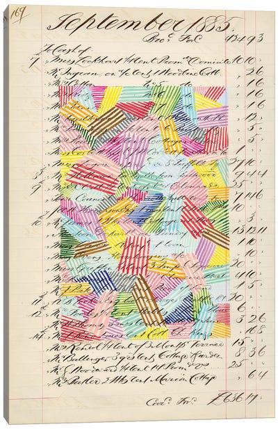 Journal Sketches XVII Canvas Art Print