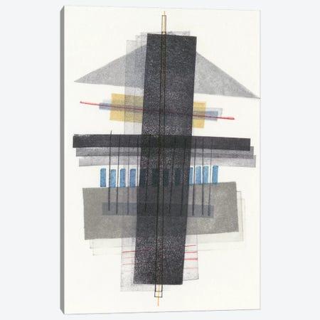 Compass Point I 3-Piece Canvas #NIK5} by Nikki Galapon Canvas Art Print