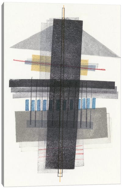 Compass Point I Canvas Art Print