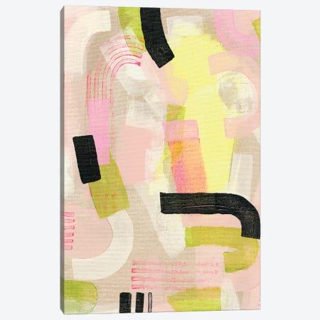 Neon Marks I Canvas Print #NIK60} by Nikki Galapon Art Print