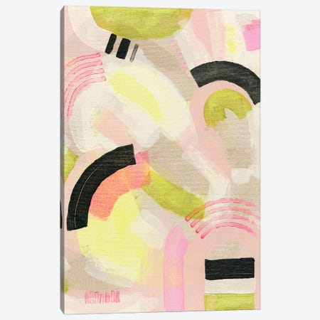 Neon Marks II Canvas Print #NIK61} by Nikki Galapon Art Print