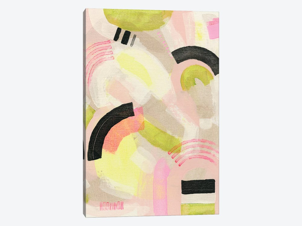Neon Marks II by Nikki Galapon 1-piece Canvas Art