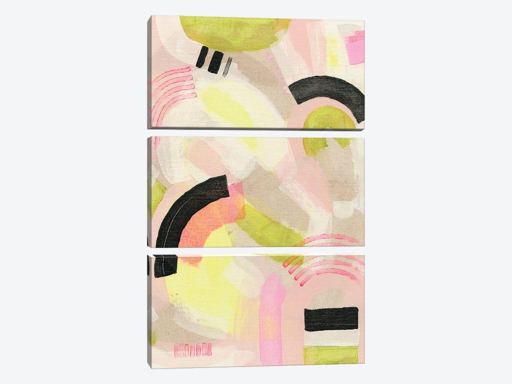 Neon Marks II by Nikki Galapon 3-piece Canvas Artwork