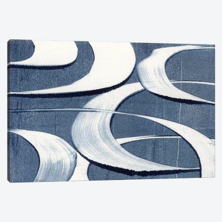 Wave Frequency I Canvas Print #NIK64} by Nikki Galapon Canvas Wall Art