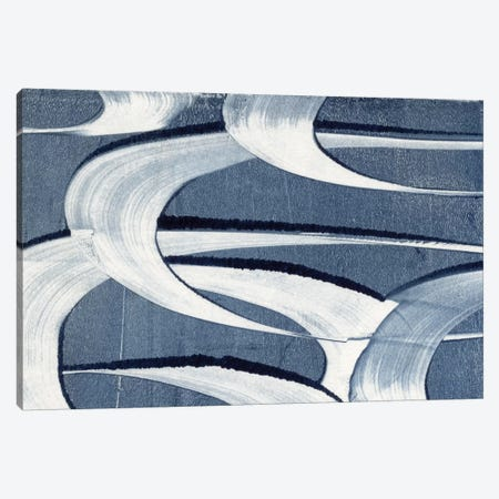 Wave Frequency II Canvas Print #NIK65} by Nikki Galapon Canvas Art