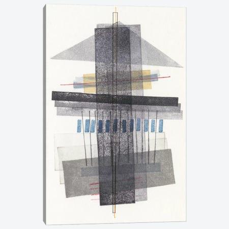 Compass Point II 3-Piece Canvas #NIK6} by Nikki Galapon Art Print