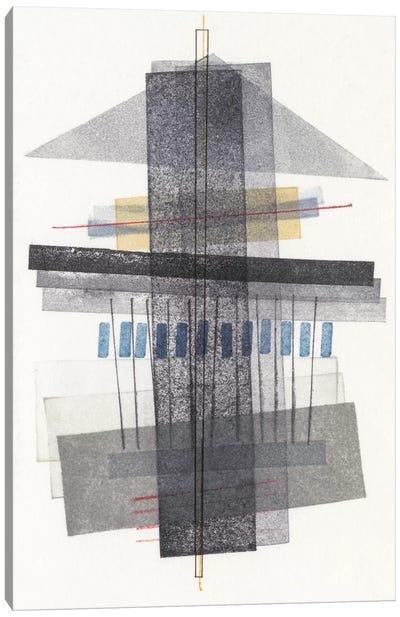 Compass Point II Canvas Art Print