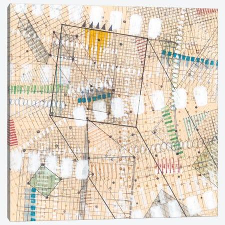 Grid Lines I Canvas Print #NIK7} by Nikki Galapon Canvas Art Print
