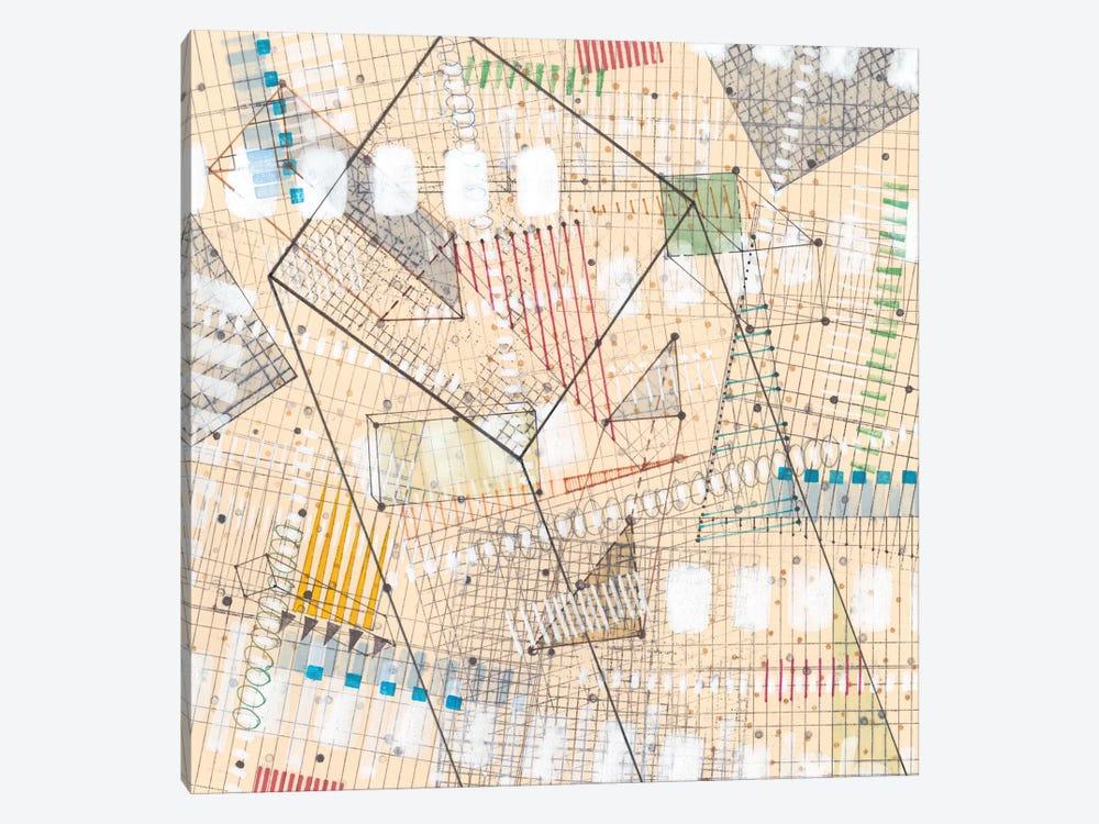 Grid Lines II by Nikki Galapon 1-piece Art Print