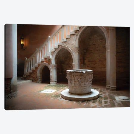 Casa Goldoni, Venice, Italy Canvas Print #NIL100} by Jim Nilsen Art Print
