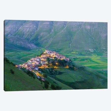 Castellucio, Italy Canvas Print #NIL101} by Jim Nilsen Canvas Art Print