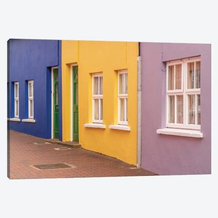 Irish Lane, Kinsale, Ireland Canvas Print #NIL123} by Jim Nilsen Art Print