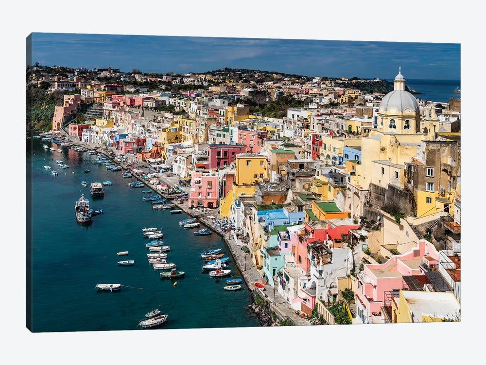 Italian Color, Procida, Italy by Jim Nilsen 1-piece Canvas Art Print