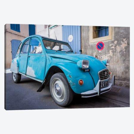 Le Car, Provence, France Canvas Print #NIL137} by Jim Nilsen Art Print
