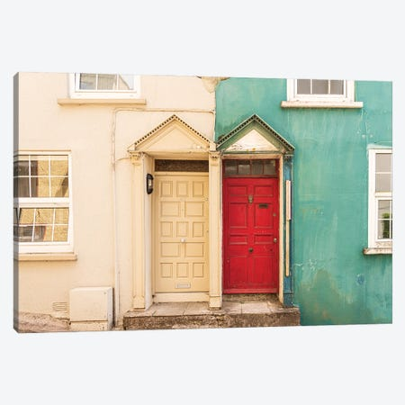 Neighbors, Kinsale, Ireland Canvas Print #NIL145} by Jim Nilsen Canvas Art