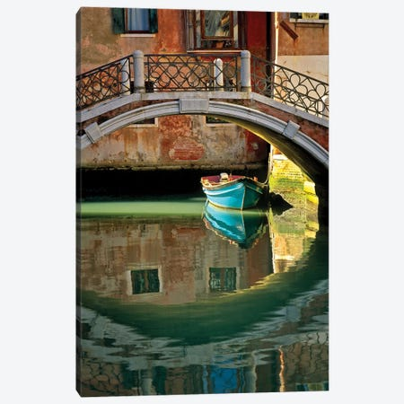 Casanova's Escape, Venice, Italy Canvas Print #NIL14} by Jim Nilsen Canvas Wall Art