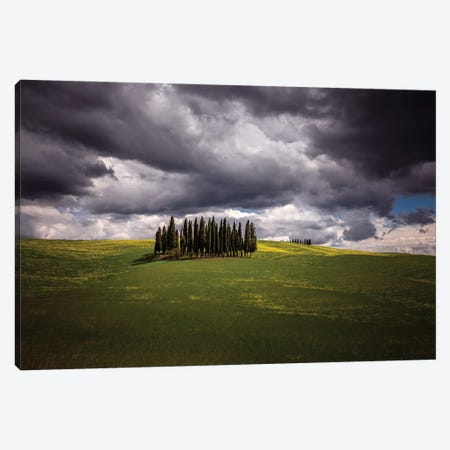 Ready For The Storm, Tuscany, Italy Canvas Print #NIL160} by Jim Nilsen Canvas Print
