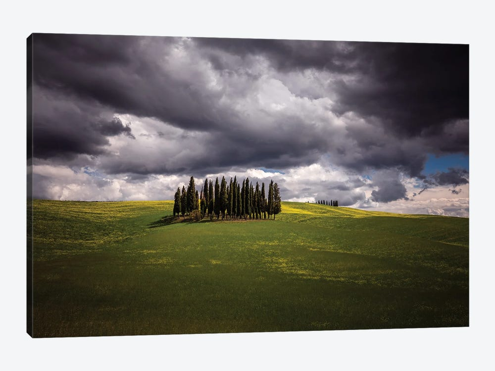 Ready For The Storm, Tuscany, Italy by Jim Nilsen 1-piece Canvas Wall Art