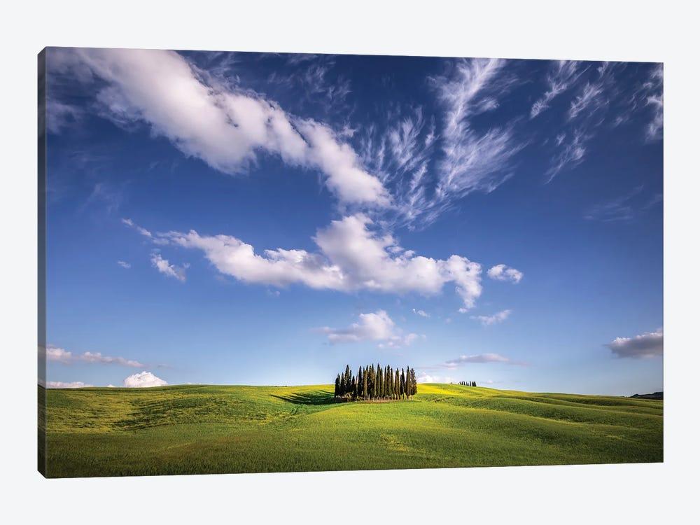 Cloud Show, Tuscany, Italy by Jim Nilsen 1-piece Art Print