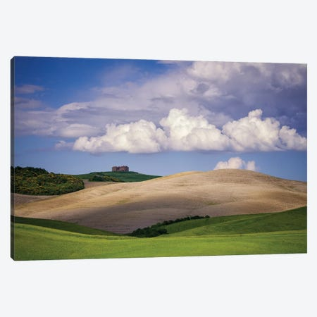 The Val D' Orcia, Tuscany, Italy Canvas Print #NIL166} by Jim Nilsen Canvas Art