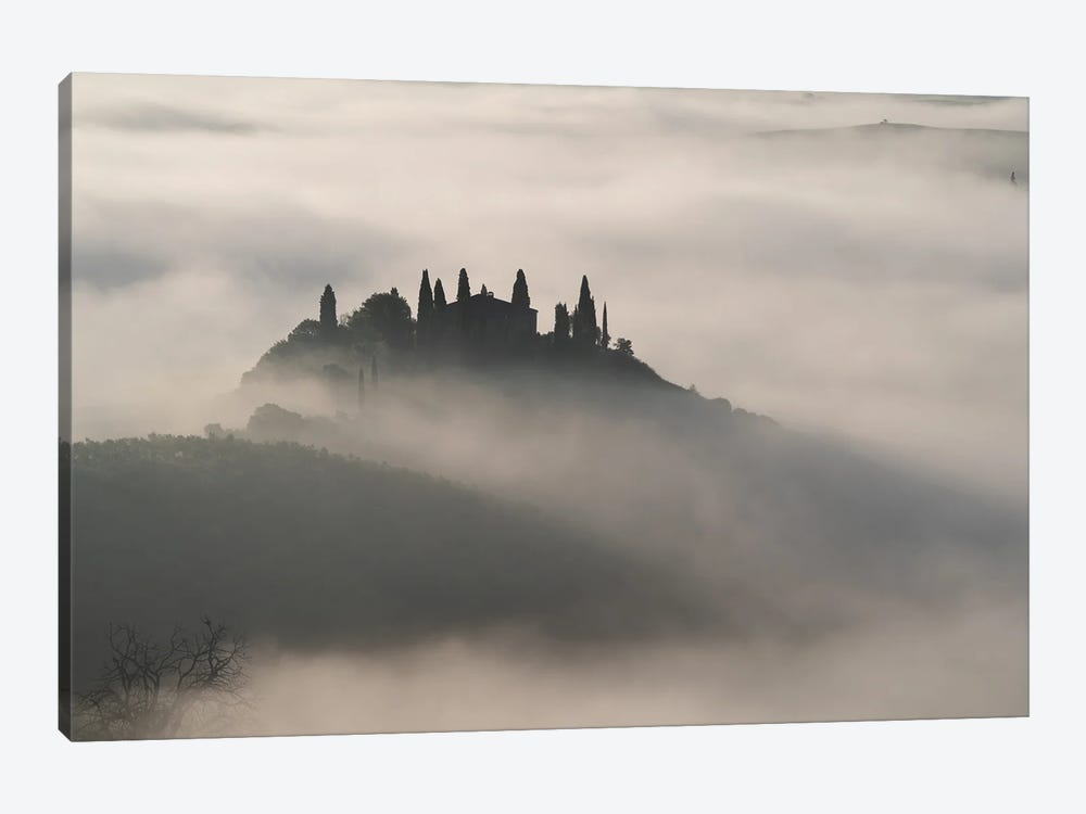 Val D' Morning Ii, Tuscany, Italy by Jim Nilsen 1-piece Art Print