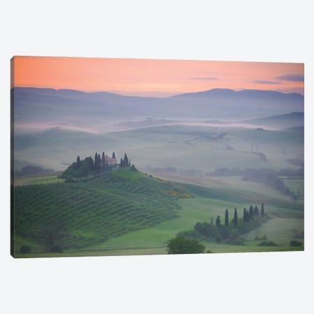 Arise, Tuscany, Italy Canvas Print #NIL175} by Jim Nilsen Art Print