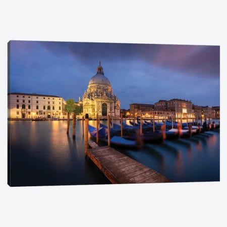 Santa Maria Della Salute, Venice, Italy Canvas Print #NIL182} by Jim Nilsen Canvas Print
