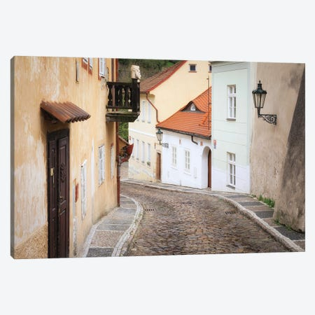 Novy Svet, Prague, Czech Republic Canvas Print #NIL189} by Jim Nilsen Canvas Art Print