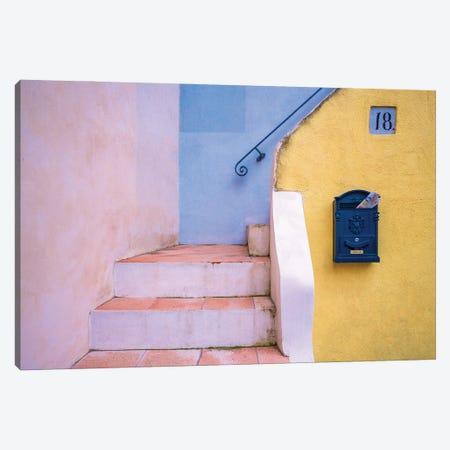Number 18, Procida, Italy Canvas Print #NIL190} by Jim Nilsen Canvas Artwork