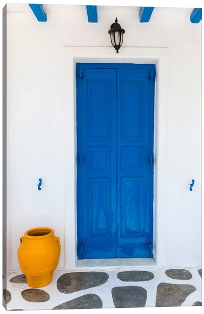 Fun House, Mykonos, Greece I Canvas Art Print