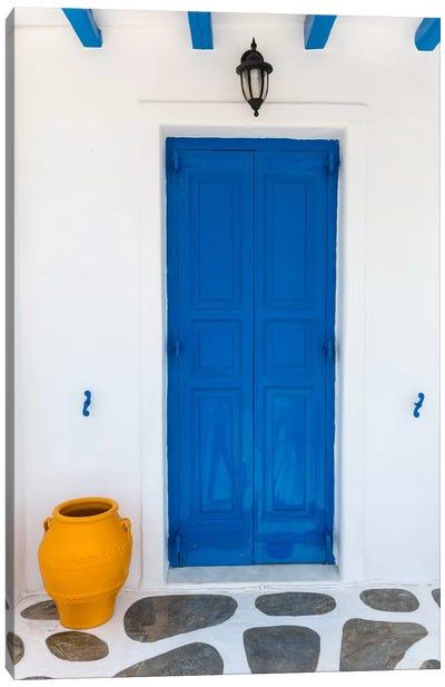 Fun House, Mykonos, Greece I Canvas Art Print