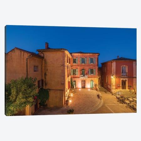 Roussillon Blue, Provence, France Canvas Print #NIL204} by Jim Nilsen Canvas Art Print