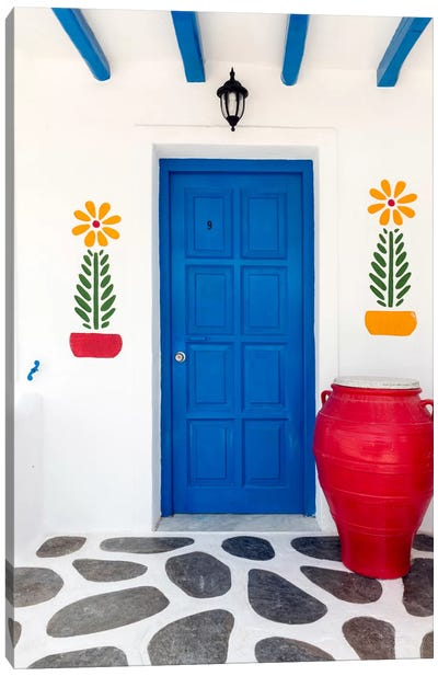 Fun House, Mykonos, Greece II Canvas Art Print