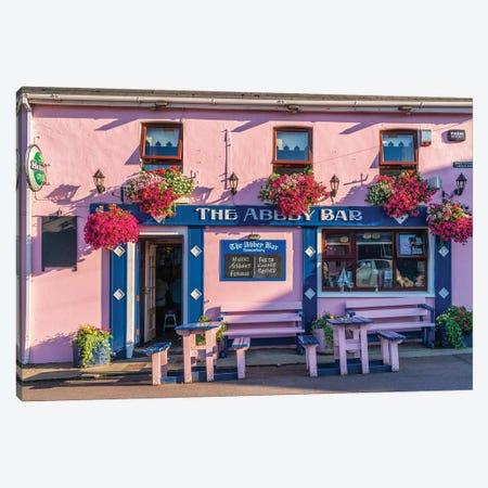 The Abbey Bar, Ireland Canvas Print #NIL211} by Jim Nilsen Canvas Print