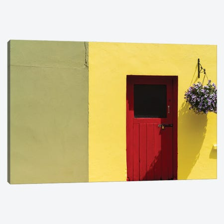 The Back Door, Ireland Canvas Print #NIL213} by Jim Nilsen Art Print