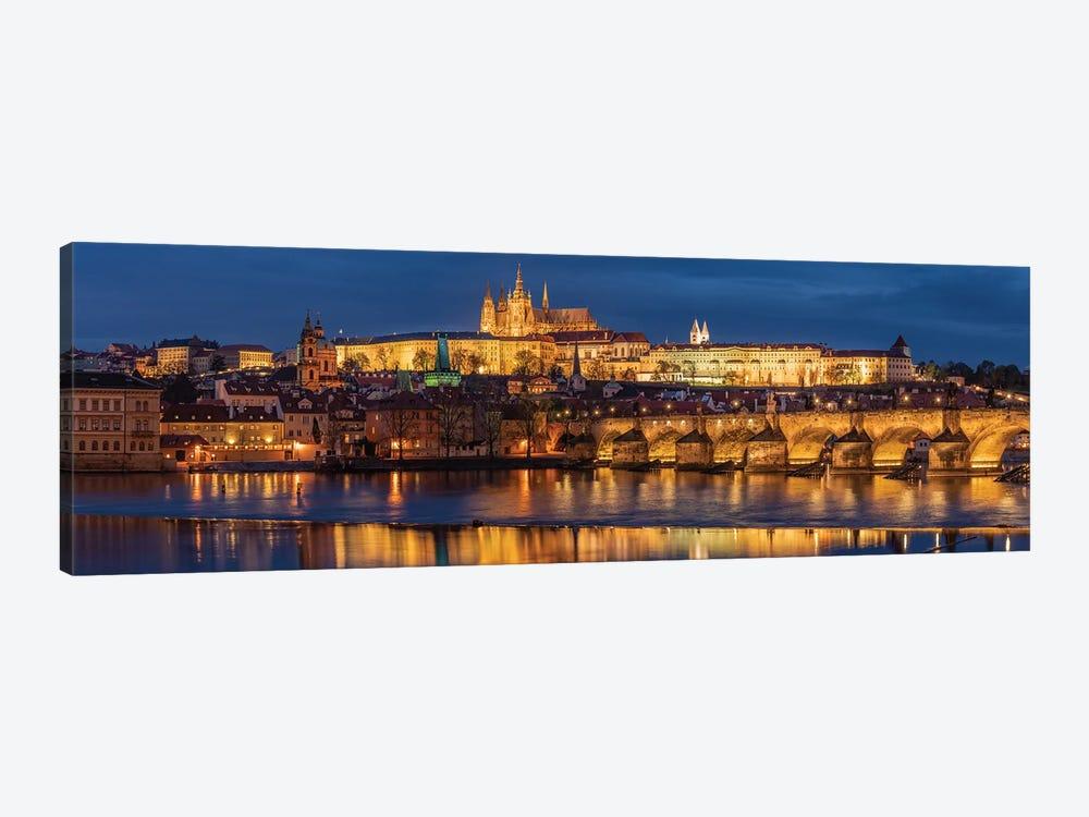 The Castle, Prague, Czech Republic by Jim Nilsen 1-piece Canvas Artwork