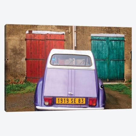 The Citroen, Provence, France Canvas Print #NIL218} by Jim Nilsen Canvas Art Print