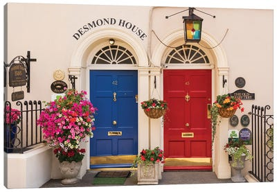The Desmond House, Kinsale, Ireland Canvas Art Print