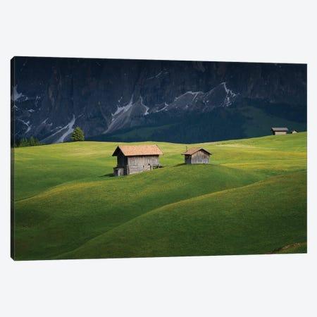 The Huts, Dolomites, Italy Canvas Print #NIL223} by Jim Nilsen Canvas Art