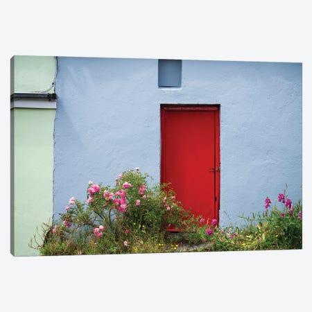 The Red Door, Ireland Canvas Print #NIL227} by Jim Nilsen Canvas Print